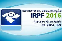 IR 2016 - Extrato da Declaração